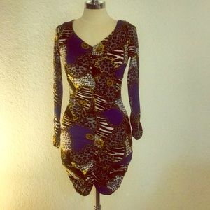 Derek Heart Couture Form Fitted Dress